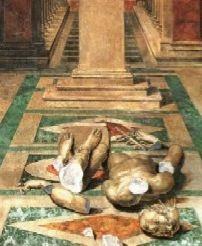 Tommaso Laureti, Le triomphe du christianisme